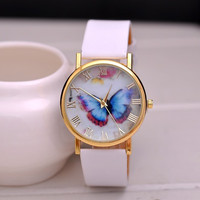 2015High Grade Elegant Style Butterfly Image Quartz Watch for Lady
