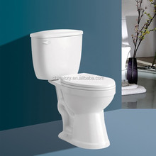 2015 Top selling sanitary ware ceramic wash down two piece toilet