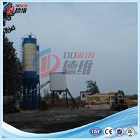 commercial HZS35 ready mixed concrete batching plant