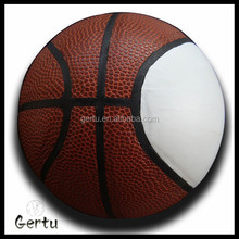 2015 best promotional sourvenir basketball with white smooth panel