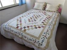 Printed microfiber bed linen