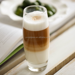 New product transparent christmas drinkware/wine glass, coffee glasses drinks/mug, coffee glass/ Cafe glass with logo