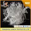 Junchi 16 mm virgin polypropylene fiber concrete fiber