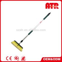 PP head + PVC soft bristle newest design telescopic car wash brush