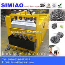 stainless steel scrubbers making machine from factory