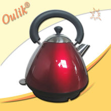Red 1.5L Pyramid Electric Kettle