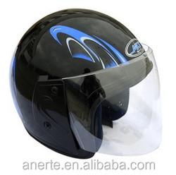 Anerte cheap popular safe half face moto helmet B-18 low price abs / pp industrial safety helmet