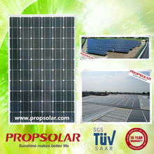 Propsolar TUV, ISO, CE certificated best price solar panels 250w mono with certificates