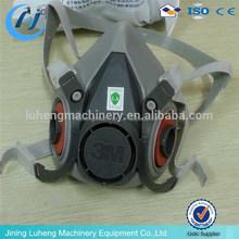 Double Cartridge Half Face Respirator, Gas Mask, Paint Spray Mask