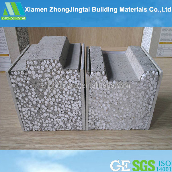 Insulated xps exterior wall panels sip panel mgo sandwich for Sip panels buy online
