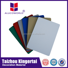 Size Alucoworld good quality light weight warehouse wall panel aluminium honeycomb india