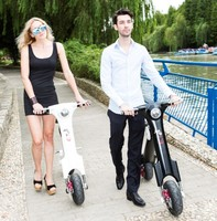 alibaba china hot selling electric motorcycle with aluminium Lithium battery 3 hours charging self-balancing electric scooter
