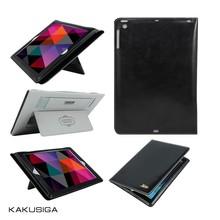 KAKUSIGA 2015 Leather smart flip cover case for ipad air 2 case
