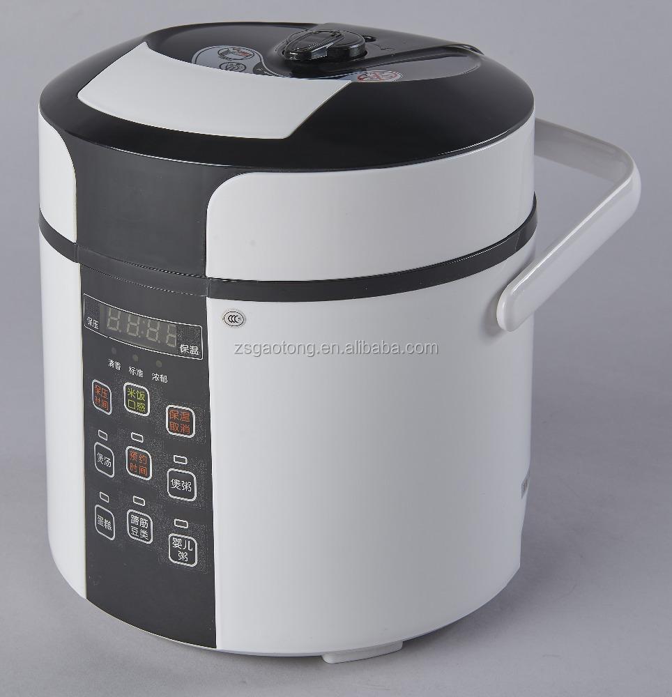 Small Electric Cooker ~ Mini l electric pressure cooker white color w for