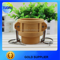 China water hose quick coupling E TYPE nylon Hose Connection cam and dowel pipe coupling