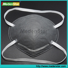 pp nonwoven and Active Carbon good dental face mask MS007