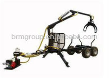 Small ATV Trailer With Grapple And Auto Winch BM11017