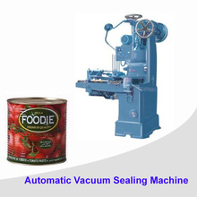 Automatic metal can sealer machine for food tomato packing