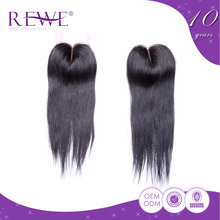 Quality Assured Promotional Price Soft And Smooth Free Parting Lace Straight Hair Swiss Closure