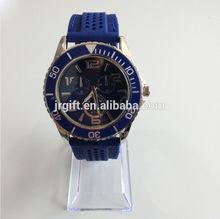 ma2014 resistente al agua caliente venta de venta directa de fábrica de silicona usb de silicona led reloj jr0130