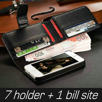 Fabulous cell phone accessory of high quality PU leather mobile phone case for Iphone 5S 5 in Dubai