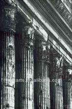 Handmade Greece Ancient Buildings Column Oil Paintings