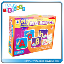 Alphabet Memory Games Puzzle Toys For Preschool Children