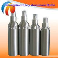 300ml Good Quality Aluminum Bottle|120ml Aluminium bottle with plastic trigger spray cap |Aluminum Bottle For Emulsions