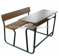 double desk and chair school desk and chair chair and desk attached