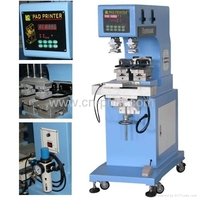 2- Color Sealed Cup Gravure Printing Machinery with shuttle for pens plastic cup eraser