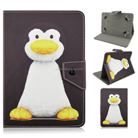 Cute Penguin Tablet Leather Case for iPad Air