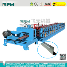 Black Steel Strip 80--300mm Making Machine for Z Channel Purlin Roll Forming Line