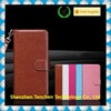 2015 hot selling Wallet Case with Flip Design leather material magnet leather filp case for iphone 6