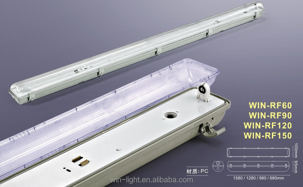 Triproof Lighting Fixtures For T5 And T8 Guangdong Winlight Energy Saving Photoelectric Co Ltd