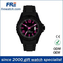 fashion design silicone japan movt watch prices unisex hot sales watches