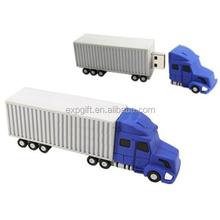 Semi-Trailer Truck USB Flash Drive / Cargo Truck USB Flash Drive / Container Truck USB Flash Drive