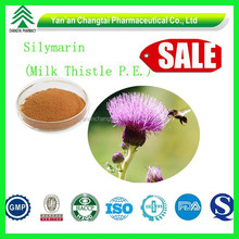 GMP factory supply Hot sale Best price Silymarin extracted by Ethyl Acetate