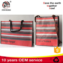 Wholesale Customized Printing Shopping Recycled Laminated PP Woven Bag In China