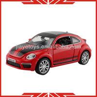 Volkswagen Beetle 32111 hot sale style 2014 die cast model car