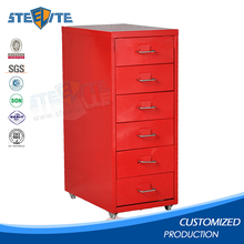 Furniture korea small stainless steel storage cabinet metal drawer cabinet