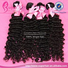 6a Fashion source human hair,no syntetic brazilian hair,remy glitter hair extension