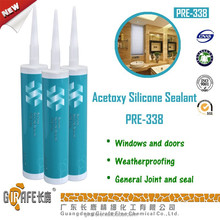 Acetoxy Silicone Sealant high performance good adhesion to glass