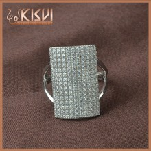 2015 fashion jewellery, New Arrival Geometric Ring Value 925 Sterling Silver stone men ring