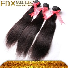 7a whosale brazilian virgin hair 16 inches straight indian remy hair extensions
