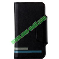 High-end KLD Versal Series Magnetic Wallet Leather Case for iPhone 5S 5C 5 4S 4