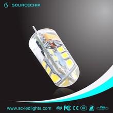 LED G4 bulb 2W 180lm EMC LVD GS CE