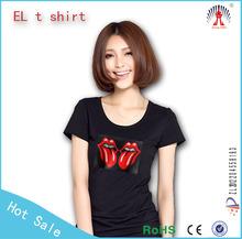 luminous clothing/pro club el t-shirt apparel manufacture china