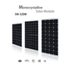 18 volt mono solar panels 140w 150w 160w with TUV