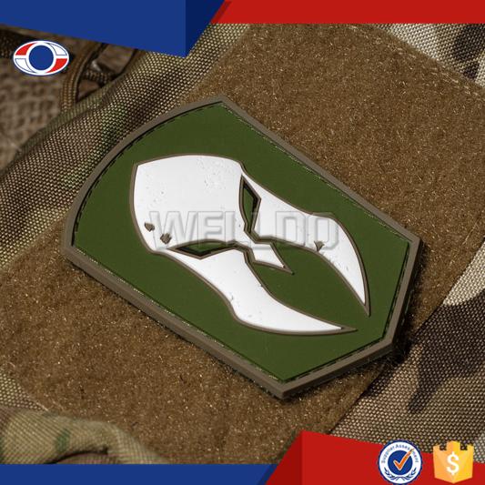 Baratos personalizados 3D efeito velcro forças armadas