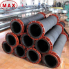 Special Synthetic Rubber Ribbed Suction Hose Pipe for Dredging Water